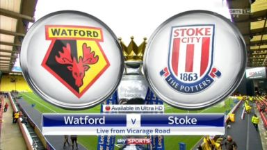 Full match: Watford vs Stoke City