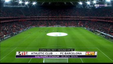 Full match: Athletic Club vs Barcelona