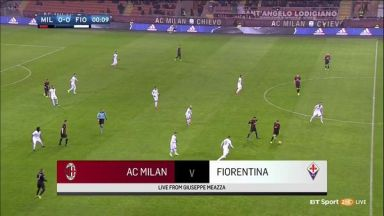 Full match: AC Milan vs Fiorentina