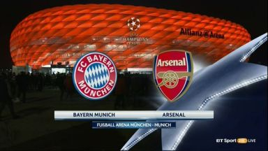 Full match: Bayern Munich vs Arsenal