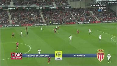 Full match: Guingamp vs Monaco