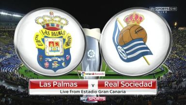 Full match: Las Palmas vs Real Sociedad