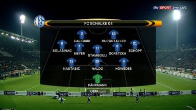 Full match: PAOK vs Schalke 04