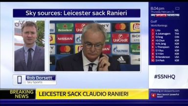 Leicester City have sacked Claudio Ranieri