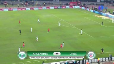 Full match: Argentina vs Chile