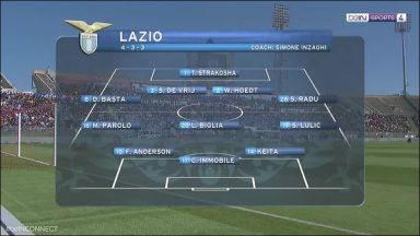 Full match: Cagliari vs Lazio