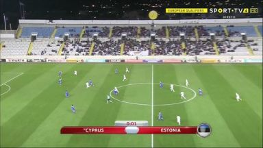 Full match: Cyprus vs Estonia