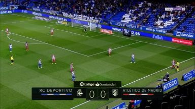Full match: Deportivo La Coruna vs Atletico Madrid