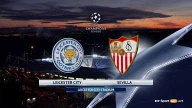 Full match: Leicester City vs Sevilla