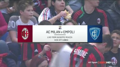 Full match: AC Milan vs Empoli
