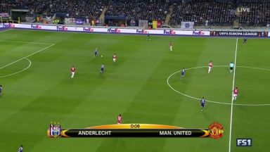 Full match: Anderlecht vs Manchester United
