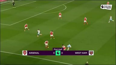 Full match: Arsenal vs West Ham United