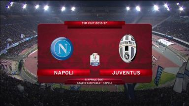 Full match: Napoli vs Juventus