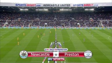 Full match: Newcastle United vs Preston North End