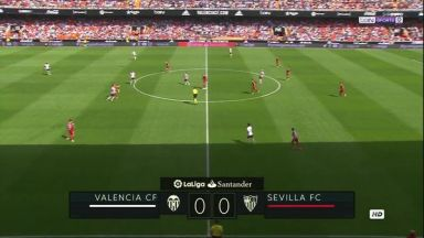 Full match: Valencia vs Sevilla