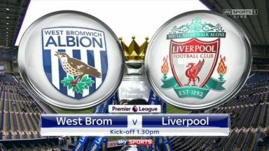 Full match: West Bromwich Albion vs Liverpool