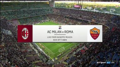 Full match: AC Milan vs AS Roma