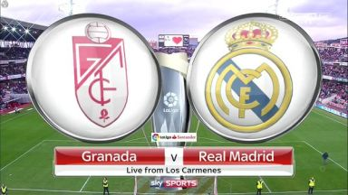 Full match: Granada vs Real Madrid