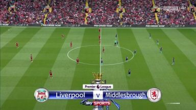 Full match: Liverpool vs Middlesbrough