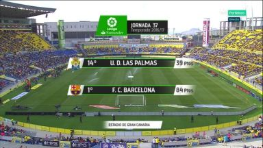 Full match: Las Palmas vs Barcelona