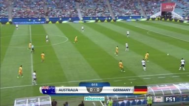 Full match: Australia vs Germany