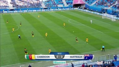 Full match: Cameroon vs Australia