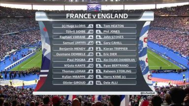 Full match: France vs England