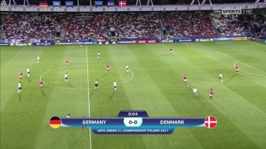 Full match: Germany U21 vs Denmark U21