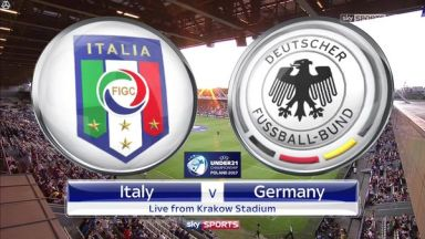 Full match: Italy U21 vs Germany U21