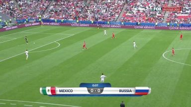 Full match: Mexico vs Russia