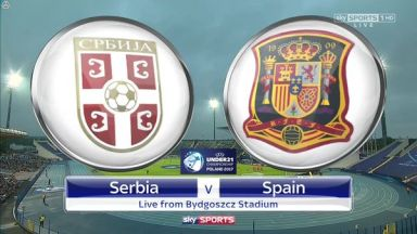 Full match: Serbia U21 vs Spain U21