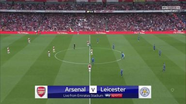 Full match: Arsenal vs Leicester City