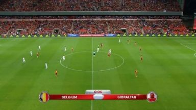 Full match: Belgium vs Gibraltar