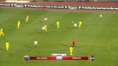 Full match: Bulgaria vs Sweden