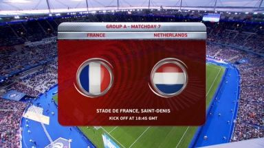Full match: France vs Netherlands
