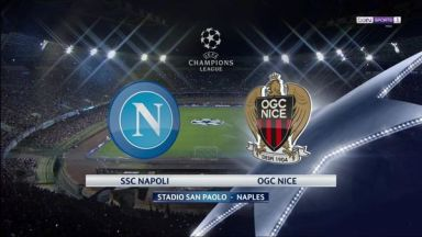 Full match: Napoli vs Nice