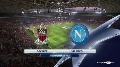 Full match: Nice vs Napoli