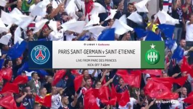 Full match: PSG vs Saint-Etienne
