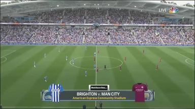 Full match: Brighton & Hove Albion vs Manchester City