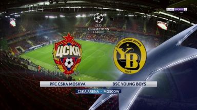 Full match: CSKA Moskva vs Young Boys