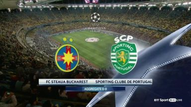 Full match: FCSB vs Sporting Lisbon