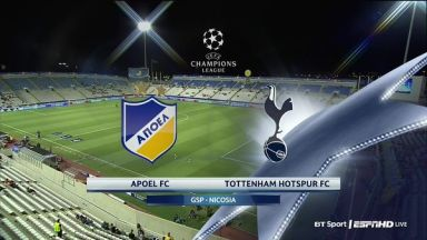 Full match: APOEL vs Tottenham Hotspur