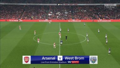 Full match: Arsenal vs West Bromwich Albion