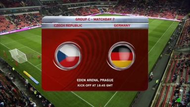 Full match: Czech Republic vs Germany
