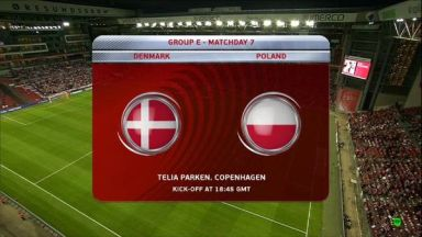 Full match: Denmark vs Poland