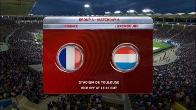 Full match: France vs Luxembourg