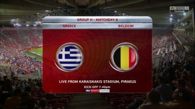 Full match: Greece vs Belgium