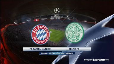 Full match: Bayern Munich vs Celtic