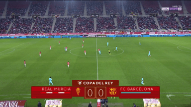 Full match: Real Murcia vs Barcelona
