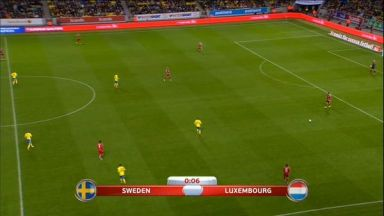 Full match: Sweden vs Luxembourg